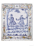 "Plaque Depicting a Scene from ""The Magic Flute"""