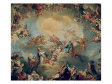 The Glorification of the Virgin  1731