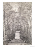 Cenotaph to Sir Joshua Reynolds at Coleorton Hall  Leicestershire  1823
