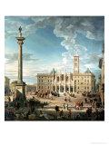 The Piazza Santa Maria Maggiore  1752