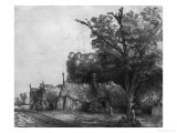 Landscape with Three Cottages  1650