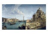 Entrance to the Grand Canal and Santa Maria Della Salute  Venice