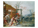 The Chinese Hunt  circa 1742