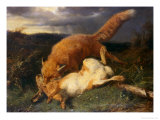 Fox and Hare  1866
