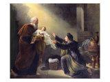 Elijah Resuscitating the Son of the Widow of Sarepta