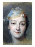 Portrait of Marie Fel 1757
