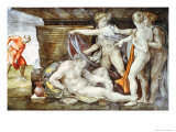 Sistine Chapel Ceiling: Drunkenness of Noah