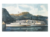 "The Hudson River Steamboat ""St John"""