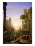 Embarkation of St Paul at Ostia