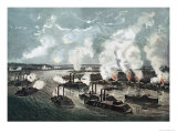 Bombardment and Capture of Island No10 on the Mississippi River  7th April 1862