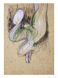 Study for Loie Fuller at the Folies Bergeres  1893
