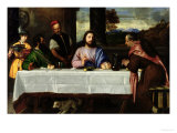 The Supper at Emmaus  circa 1535