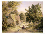 A Farmyard Near Princes Risborough  1845/6