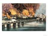The Fall of Richmond  Virginia  2nd April 1865