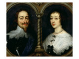 Charles I of England and Queen Henrietta Maria