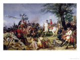 The Battle of Fontenoy  11th May 1745  1828