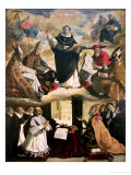 The Apotheosis of St Thomas Aquinas  1631