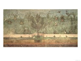 "Garden Paintings from the So-Called ""Villa of Livia""  Primaporta  Rome  circa 20 BC"
