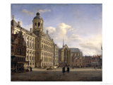 The New Town Hall  Amsterdam  1668