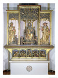 Group of Wooden Sculptures  from the Isenheim Altarpiece  circa 1490