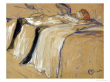 Woman Lying on Her Back - Lassitude  Study for &quot;Elles&quot;  1896