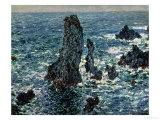 The Rocks at Belle Ile  1886