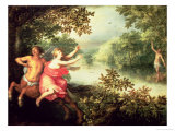 Hercules  Deianeira and the Centaur Nessus  1612