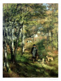 Jules Le Coeur in the Forest of Fontainebleau  1866