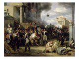 The Gate at Clichy During the Defence of Paris  30th March 1814  1820