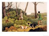 Pheasant Shooting  Pub by Thomas Mclean  1820