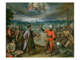 Allegory of the Turkish Wars: the Declaration of War at Constantinople  1603-4