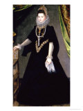 Infanta Isabella Clara Eugenia  Daughter of King Philip II of Spain and Isabella of Valois  1599
