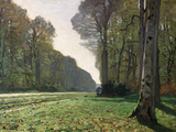 Le pavé de Chailly (forêt de Fontainebleau), vers 1865 Reproduction d'art par Claude Monet