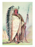 "Sioux Chief  ""The Black Rock""  19th Century"