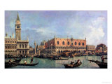 The Molo and the Piazzetta San Marco  Venice