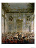 Court Banquet in the Great Antechamber of the Hofburg Palace  Vienna