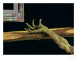 Crucifixion from the Isenheim Altarpiece  Detail of Christ's Right Hand  circa 1512-16