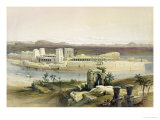 "General View of the Island of Philae  Nubia  from ""Egypt and Nubia""  Vol1"