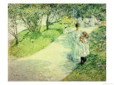 Promenaders in the Garden  1898