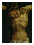 The Crucifixion from the Isenheim Altarpiece  Detail of Christ's Torso  circa 1512-16