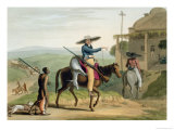Boors Returning from Hunting  Plate 11 from &quot;African Scenery and Animals&quot;