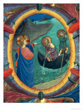 "The Calling of St Peter and St Andrew  Detail of Historiated Initial ""O"" from a Missal  1430s"