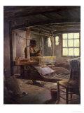 The Breton Weaver  1888