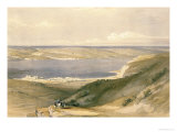 Sea of Galilee or Genezareth  Looking Towards Bashan  April 21st 1839  Pub 1842