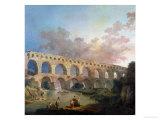 The Pont Du Gard  Nimes  circa 1786