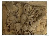 The Flight into Egypt  Column Capital Relief from the Church of the Benedictine Abbey  13th Century