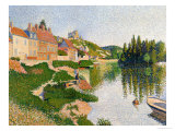 The River Bank  Petit-Andely  1886