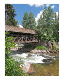 The Covered Bridge  Vail  Colorado