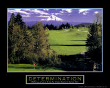Determination: Golf