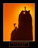 Teamwork: Sunset Climbers